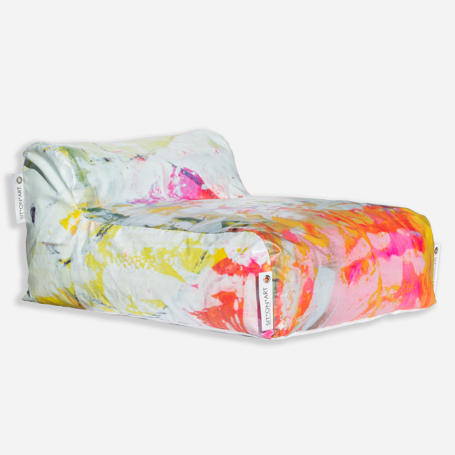 Lime Washed Lounger
